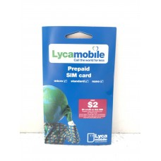 Lycamobile $2 SIM Starter Kit
