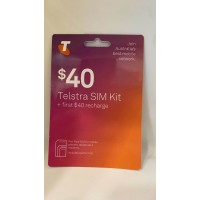 Telstra $40 SIM BIg deal